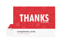 compliment cards drukken