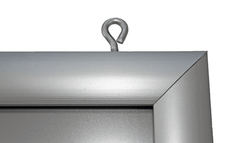 slide in frame ophangogen