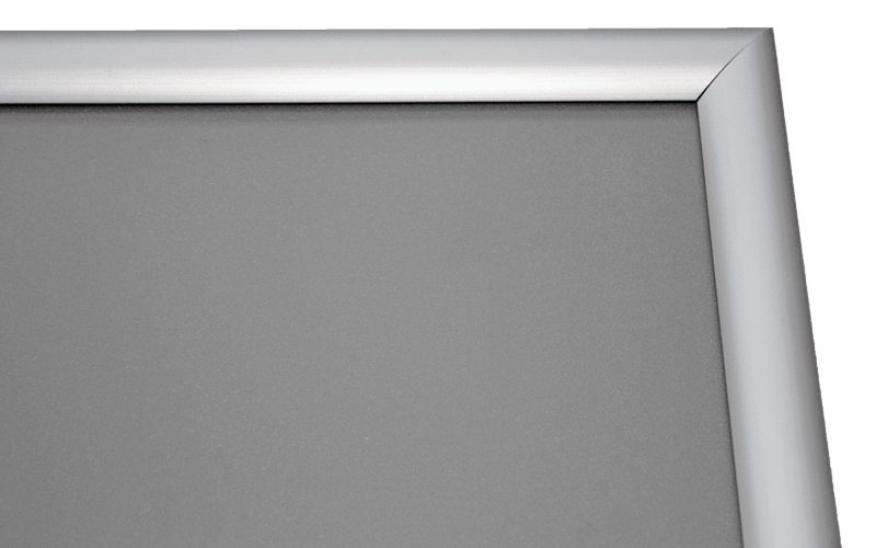 slide in frames materiaal